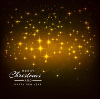 Beautiful Shiny Glitters Merry Christmas Festival Background