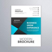 Business brochure creative template design vector