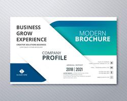 Professional business flyer template card colorful design