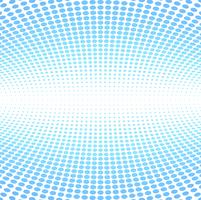 Modern blue halftone background vector