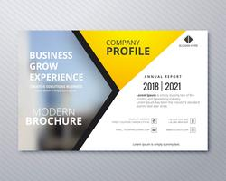 Design professionale del modello di business flyer