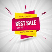 Best Sale creative colorful banner design