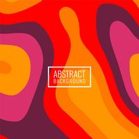 Abstract bright colorful papercut background