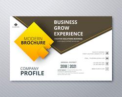 Business professional brochure colorful template creative design