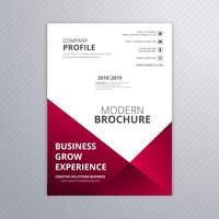 Modern business brochure template design vector