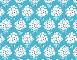 Seamless daisy flower pattern