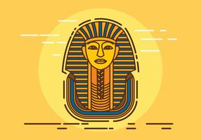 Illustration vectorielle pharaon