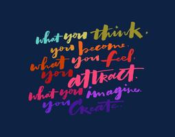 think imagine create quote vector