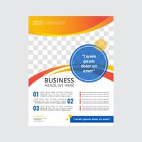 Modern Business Flyer Template vector