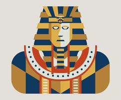 Illustration du pharaon