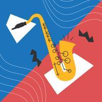 Vector saxofon