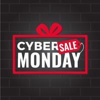 Cyber Monday Social Media Post vector