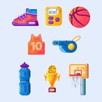 Basketbal elementen