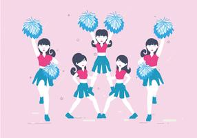 pom-pom girls vol 3 vector