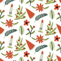 Cute Christmas Pattern vector