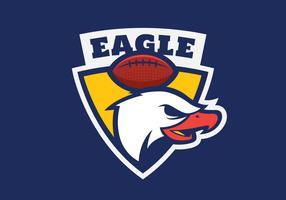 Emblema de la cabeza de águila