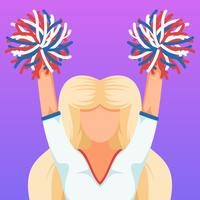 Outstanding Cheerleader Vectors