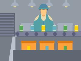 Outstanding Factory Worker Vectors
