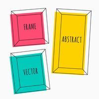 kleurrijke reeks frames van de beeldverhaalstijl