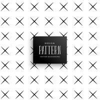 design de fundo padrão mínimo cruz