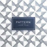 patrón de línea abstracta en diferente ancho