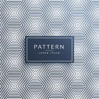 línea elegante hexagonal patrón de fondo