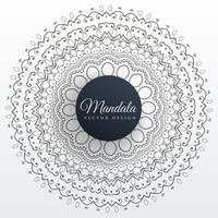 mandala decoration background art design