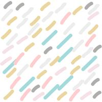 cute hand drawn stripes pattern in pastel colors
