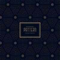 Fondo oscuro elegante decoración de patrón