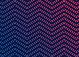 black background with vibrant zigzag pattern