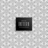Líneas abstractas hexagonales patrón de fondo