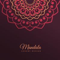 projeto de plano de fundo de arte decoração mandala