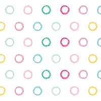 colorful circles pattern design background