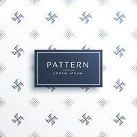 Fondo de patrón mínimo de símbolo de esvástica