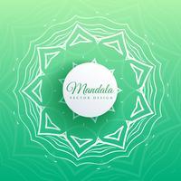 indischer Mandala-Muster-Design-Hintergrund