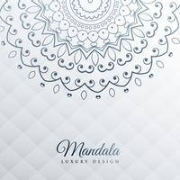 gray background with mandala decoration