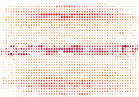 Vector Colorful Halftone Background