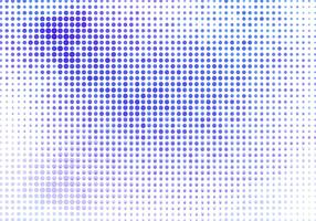 Vector Blue Halftone Background