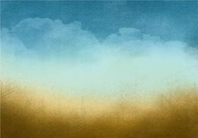 Beautiful Grunge Sky Background vector