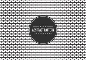 Abstract B/W Brick Style Pattern Background