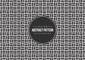 Black and White Tiled Geometric Pattern Background