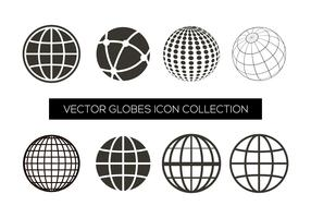 Collection d'icônes Vector Globe