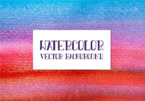 Colorful Vector Watercolor Background