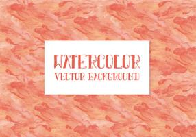 Peach Watercolor Vector Background