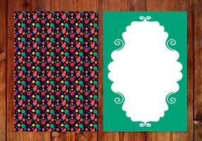 Colorful Polka Dots Card Template