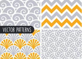 Conjunto de diseño de patrón geométrico