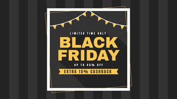 Unika Black Friday Social Media Post Vectors