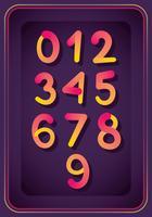 Zahlen Design