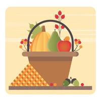 Vector Autumn Elements Illustration