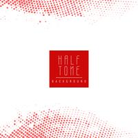 Abstract modern red halftone background